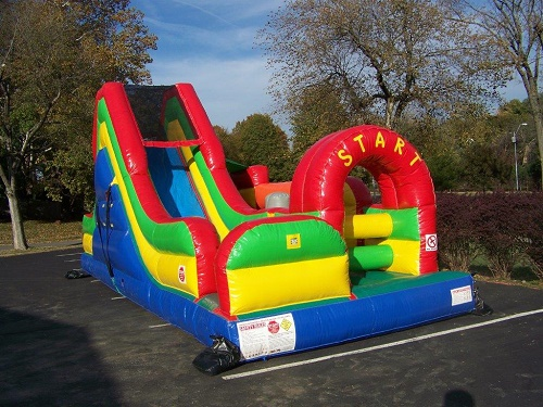 Fun Run Obstacle Course