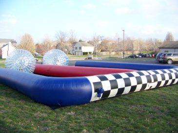 Giant Hamster Ball Racing