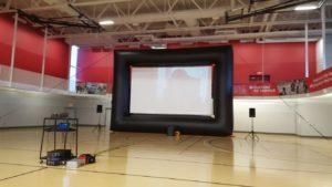Giant Movie Screen