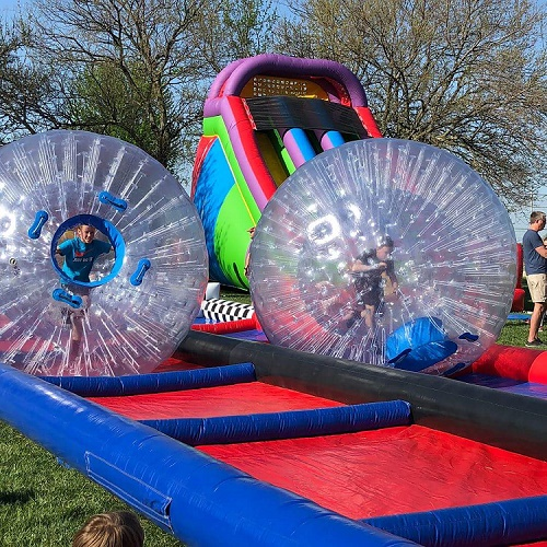 Hamster Balls at School Carnival Event