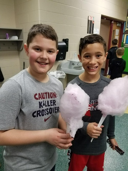Cotton Candy at School Events
