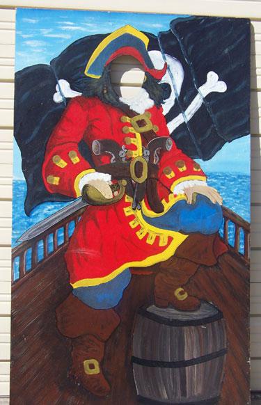 Pirate Captain Cutout