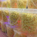 Glow popcorn tubs